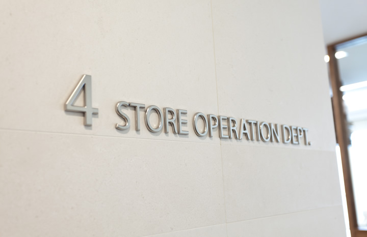 BE CREWS 4F STORE OPERATION